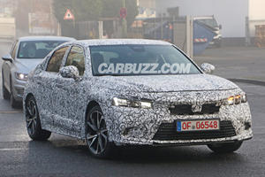 New Honda Civic Hatchback Seen For The First Time