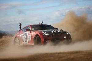 Nissan 370Z Rally Car Pays Tribute To Original 240Z