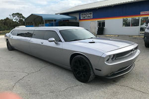Dodge Challenger Limo Is A Muscle Car The Whole Trailer Park Can Enjoy