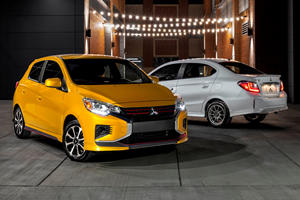 2021 Mitsubishi Mirage Arrives Looking Better Than Ever
