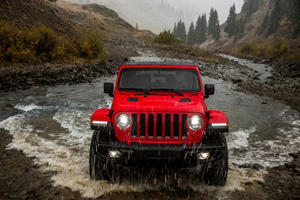 Jeep Wants To Give The Wrangler Four-Wheel Steering