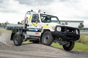 Toyota Land Cruiser 70 Series Swaps V8 For Electric Power