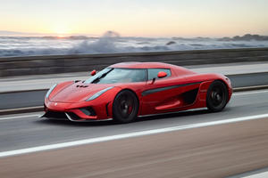 Every Koenigsegg Regera Gets Pushed To 186 MPH Before Delivery
