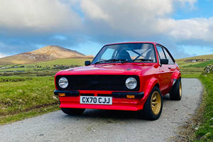 Road Legal Ford Escort Rally Car Is The Ultimate Back Road Warrior