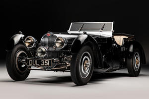Rare Bugatti Type 57S Rediscovered After 50 Years