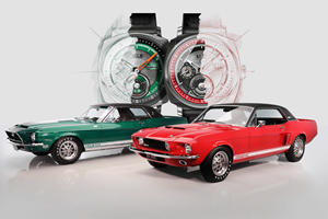 Mythical Shelby GT500 Classics Become Wristwatches