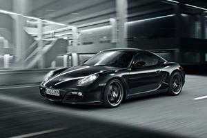 Porsche Unveils 2012 Cayman S Black Edition