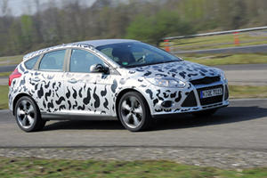 Spied: Ford Focus ST Caught Testing