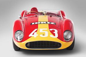 Up For Auction: Rare Four-Cylinder 1957 Ferrari Testa Rossa