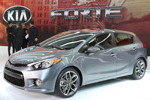 Kia Forte Five-Door Debuts in Chicago