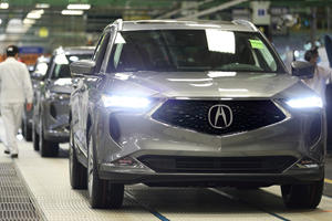 Production Begins Of 2022 Acura MDX