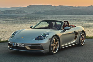 Porsche 718 Boxster 25 Special Edition Is A Celebration Of Roadster Fun