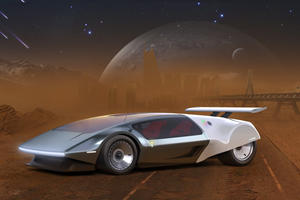 Hydrogen-Powered SCG 009 Concept Has 3,000-Mile Range