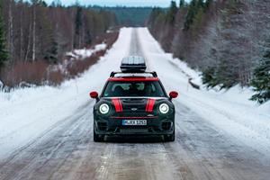 Mini JCW Clubman Goes To Lapland To Visit Santa