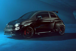 Fiat 500 Abarth Hercules Is One Mean-Looking Hot Hatch
