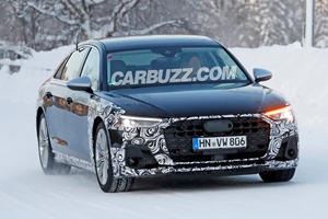 New Audi S8 Facelift Spied For The First Time