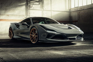 Ferrari F8 Tributo Gets New Look And 800-HP Upgrade