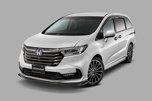 Carbon-Clad Honda Odyssey Shows Minivans Don't Have To Be Boring