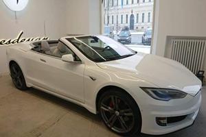Tesla Model S Convertible Looks Surprisingly Good