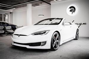 Tesla Model S Convertible Revealed In Full