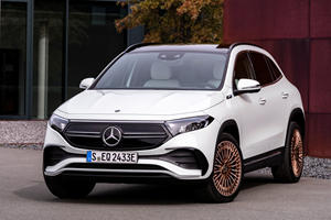 2021 Mercedes-Benz EQA First Look Review: Electrified Star