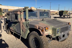 Someone Stole A Combat-Ready Military Humvee