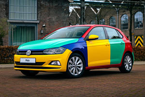The Volkswagen Polo Harlequin Is Back!