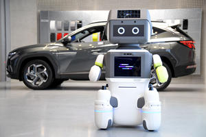 Hyundai Introduces AI Robots To Showroom Floors
