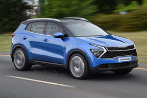 If The New Kia Sportage Looks Like This We'll Be Thrilled