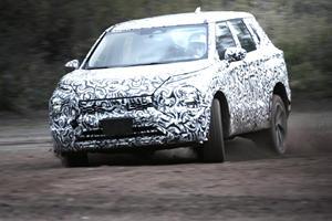 New Mitsubishi Outlander Reveals Its Offroad Potential