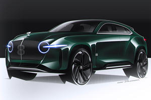 The Bentley EXP8 Is How The Bentayga Should Have Looked