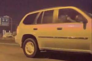 Gun-Loving SUV Driver Fires Shots At Tesla Model 3