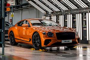Bentley Has Built 80,000 Customized Continental GTs