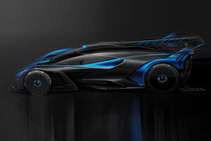 Bugatti Bolide Voted Most Beautiful Hypercar Of The Year