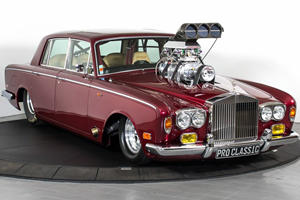 Rolls-Royce Transformed Into World's Most Luxurious Drag Racer