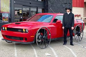 Meet The HellBuggy: A Dodge Challenger Hellcat With Amish Roots
