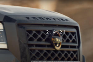 New Nissan Frontier Looks Bold In Latest Teaser