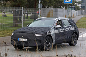 First Look At The Electric Genesis GV70e SUV