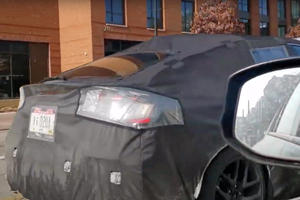 2022 Honda Civic Hatchback Spied With Unusual Rear End