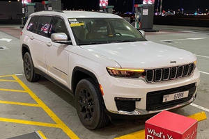 Jeep Grand Cherokee L Spotted In The Wild