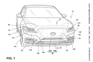 Ford Patents New Grille With Illuminated Logo