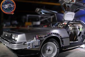 DeLorean Time Machine Restoration Complete
