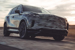 2022 Infiniti QX60 Teased With New 9-Speed Gearbox