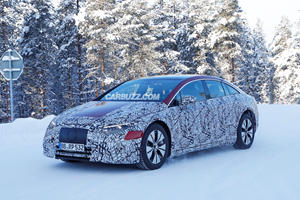 Mercedes-Benz EQS Looks Ready To Fight The Audi e-tron GT