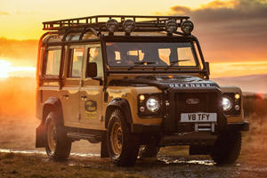 Land Rover Revives Classic Defender V8 For Limited Edition Run
