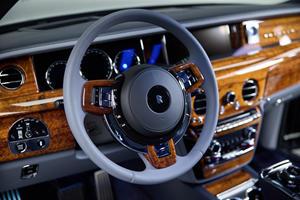Bespoke Rolls-Royce Phantom Crafted With Rare Koa Wood