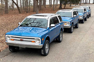 One Guy Bought FOUR Of These Tahoe-Based K5 Blazer Conversions
