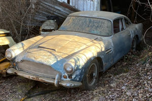 Historic Aston Martin DB4 Rediscovered After Over 30 Years