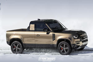 Land Rover Defender Pickup Coming To Fight The Ford Ranger