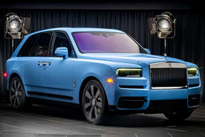 Rolls-Royce Reveals New Colors For The Cullinan